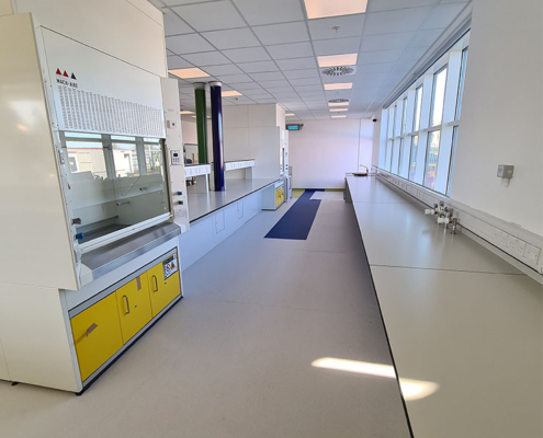 Sanofi QC Laboratory Reconfigeration1